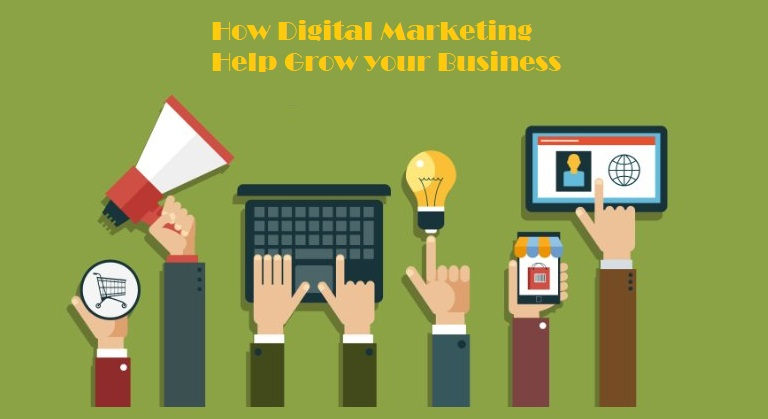 How digital marketing help grow your business